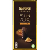 Chokladkaka Premium 70%kakao Orange 100g Marabou