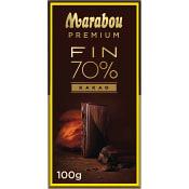 Chokladkaka Premium 70% kakao 100g Marabou
