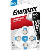 Hörapparatsbatteri 675 4-p Energizer