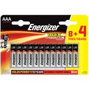 Batteri Max AAA 12-p Energizer