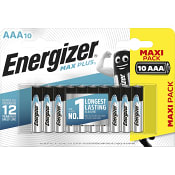 Batteri Max Plus AAA 10-p Energizer