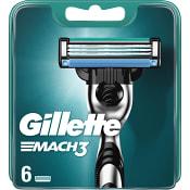 Rakblad Mach3 6-p Gillette