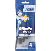 Rakhyvel Blue 3 Smooth 4-p Gillette