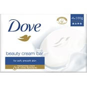 Beauty cream Tvål 100g 4-p Dove
