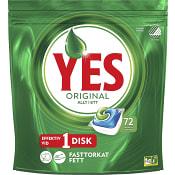 Maskindisktablett Green 72-p Miljömärkt Yes