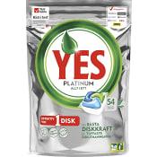 Maskindisktabletter Platinum Green 54-p Miljömärkt Yes