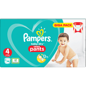 Byxblöjor Strl4 9-15kg 108-p Pampers