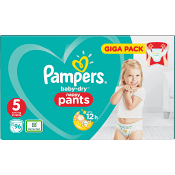 Byxblöjor Strl5 12-17kg 96-p Pampers