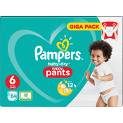 Byxblöjor Strl6 15+kg 84-p Pampers