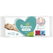 Våtservetter Sensitive 80-p Pampers