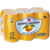 Läsk Apelsin 33cl 6-p San Pellegrino