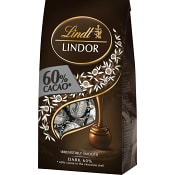 Lindor Mörk choklad 137g Lindt
