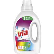 Tvättmedel Flytande Färg 1l Miljömärkt Via