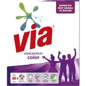 Tvättmedel Color 1,5kg Via
