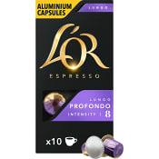 Kaffekapslar Lungo 8 Profondo 10-p L'OR