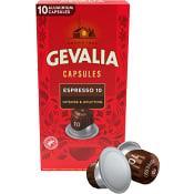 Kaffekapslar Espresso Intenso 10-p Gevalia