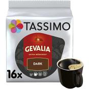 Kaffekapslar, Tassimo, Dark, 16at, Gevalia