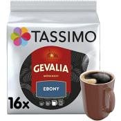 Kaffekapslar Gevalia Ebony 16st Tassimo