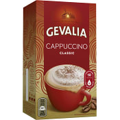 Cappuccino Original Snabbkaffe 10-p 144g Gevalia