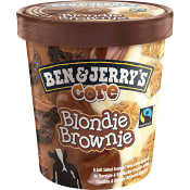 Glass Core Blondie brownie 0,5l Fairtrade Ben & Jerry's