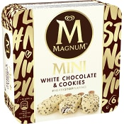 Glasspinne White Chocolate & cookies  6-p Magnum