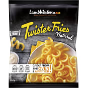 Pommes frites Twister fries Fryst 600g Lamb weston