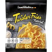 Pommes frites Twister fries Fryst 600g Lamb weston