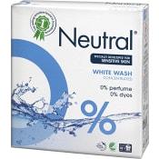 Tvättmedel White parfymfri 675g Neutral