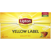Yellow label te 25-p Lipton