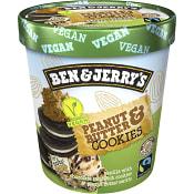 Glass Peanut butter & Cookies Mjölkfri 500ml Ben & Jerry's