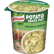 Snackpot Potatismos Bacon & lök 58g Knorr