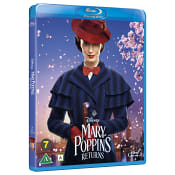 Mary Poppins kommer tillbaka Blu-ray