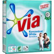 Tvättmedel White sensitive Parfymfri 750g Via