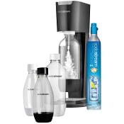 Kolsyremaskin Genesis Titan Silver Mega Pack SodaStream