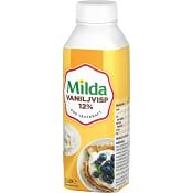 Vaniljvisp 12% 2,5dl Milda