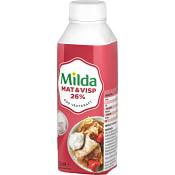 Grädde Mat & Visp 26% 2,5dl Milda