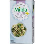 Matlagningsgrädde Mat 4% 500ml Milda