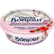 Färskost Grekisk vitlök laktosfri 100g Creme Bonjour