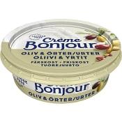 Färskost Oliv & Örter laktosfri 100g Creme Bonjour