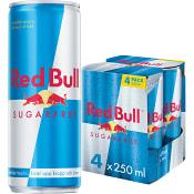 Energidryck Sockerfri 250ml 4-p Red Bull
