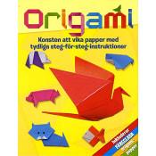 Origami : konsten att vika papper med tydliga steg-för-steg-instruktioner