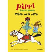 Pippi Långstrum - Måla och rita