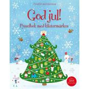 God Jul! Pysselbok med klistermärken