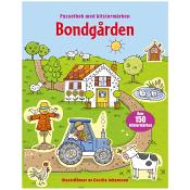 Bondgården - Pysselbok med klistermärken
