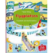 På flygplatsen: Pysselbok med klistermärken